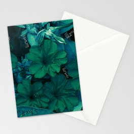 Flowers V4 Stationery Cards