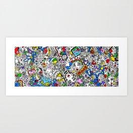 Bouncy Soul Art Print