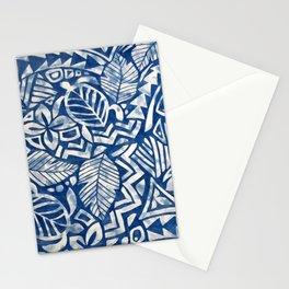 Hawaiian tribal pattern Stationery Cards