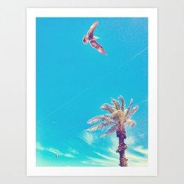 Dreaming of the Beach Art Print