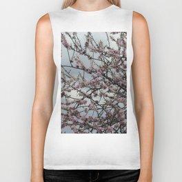 Almond tree blossom Biker Tank