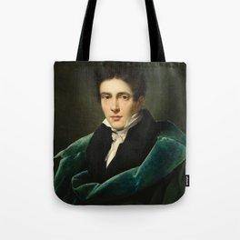 Alexandre Dubois-Drahonet - Portrait of Monsieur Gest Tote Bag