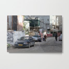 Shofat Refugee Camp Metal Print
