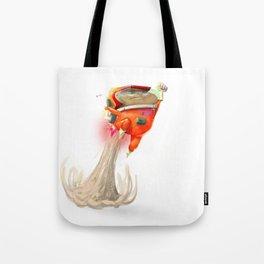Mr Mars Jetpack Pose Tote Bag