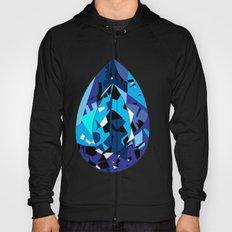 GEMS - blue , shine , single piece Hoody