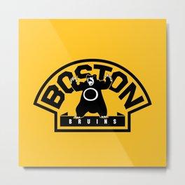 Boston Bear Metal Print