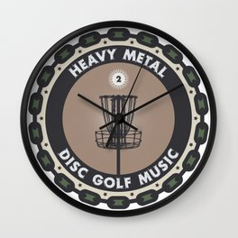 Disc Golf Chains Wall Clock