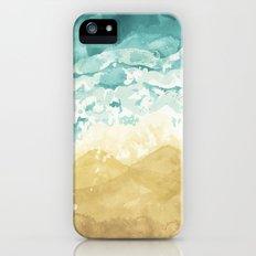 Minimalist Shore - Beach Painting iPhone (5, 5s) Slim Case