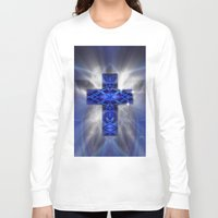 cross Long Sleeve T-shirts featuring Cross by Mr D's Abstract Adventures
