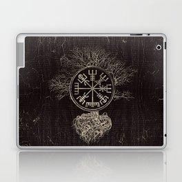 Vegvisir  and Tree of life  -Yggdrasil Laptop & iPad Skin