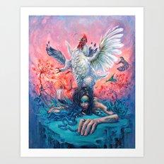Symphony #4 AM Art Print