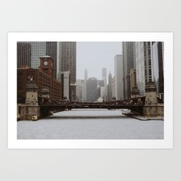 Cold Chicago Art Print