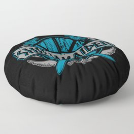 shieldmaiden #3 Floor Pillow