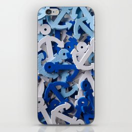 Anchors background iPhone Skin