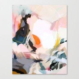 apricot dawn Canvas Print