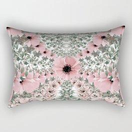 Spring watercolor flowers Rectangular Pillow