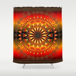 Fire Spirit Shower Curtain