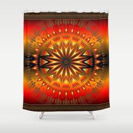Fire Spirit Shower Curtain