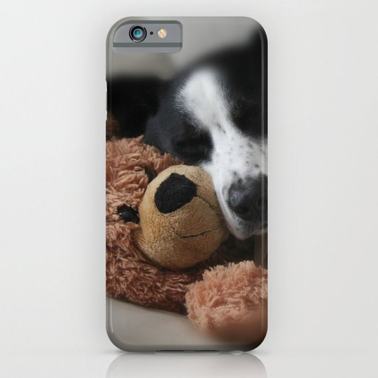 A Dog and his Bear iPhone & iPod Case