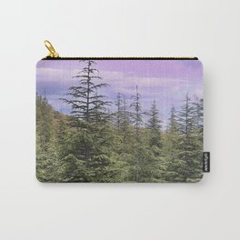 """Wildderness II"". Sunset at the mountains... Carry-All Pouch"