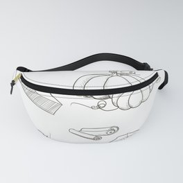 Autumn Food Fanny Pack