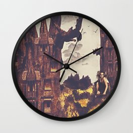 Dollhouse Forest Fantasy Wall Clock