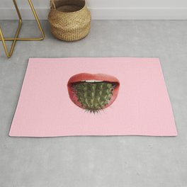 Cactus Mouth Rug