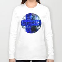 finland Long Sleeve T-shirts featuring circuit board Finland by seb mcnulty