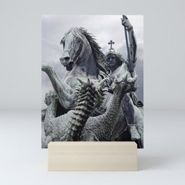The Slaying Of The Dragon Mini Art Print