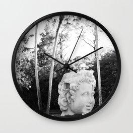 The Lone Head Wall Clock