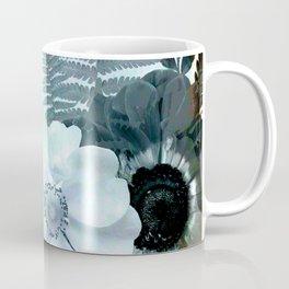 baby blue floral pattern Coffee Mug