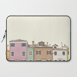 Colored Houses Laptop Sleeve