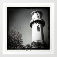 Tower @ Mt. Auburn Art Print