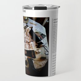 My Life Is Like A Collage / Art Stories Travel Mug