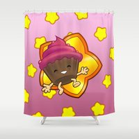 cupcake Shower Curtains featuring Cupcake! by felipeXV