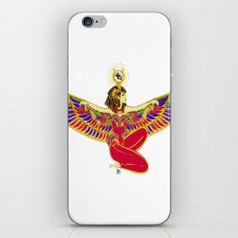 Winged Isis w/Eye of Horus iPhone Skin