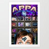 LAFS Advanced Post Production Poster Art Print
