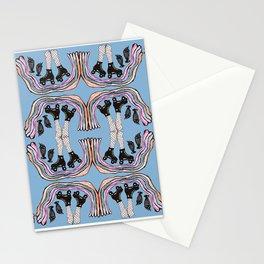 Skate date and milkshakes Stationery Cards