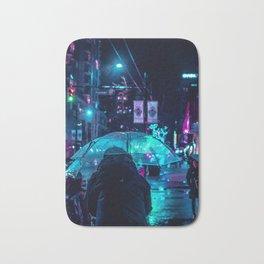 midnight city Bath Mat