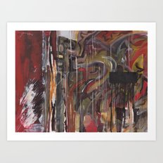 Abstract 2014/12/13 Art Print