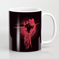 daredevil Mugs featuring daredevil and braille quote: It's not how you hit the Mat it's how you get back up by Ryan Huddle House of H
