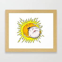 Sexclipse Framed Art Print