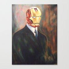 Iron Monsieur Canvas Print
