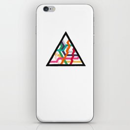 Lonely Triangle iPhone Skin