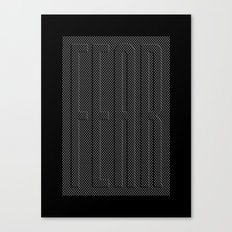 Fear Fence Canvas Print
