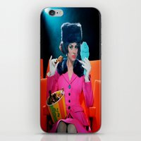 theatre iPhone & iPod Skins featuring Theatre Lady by Wanker & Wanker