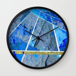 Track And Field Art Wall Clock