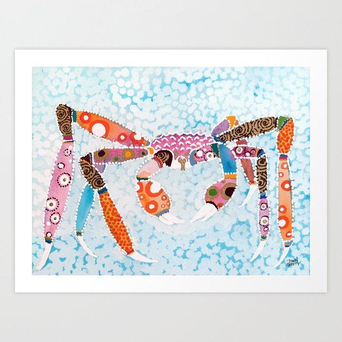 Crabs Are Fun Art Print