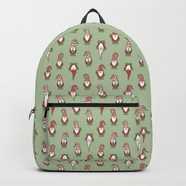 North Pole Gnomes (Green) Backpack