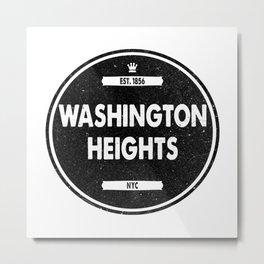 Washington Heights Metal Print